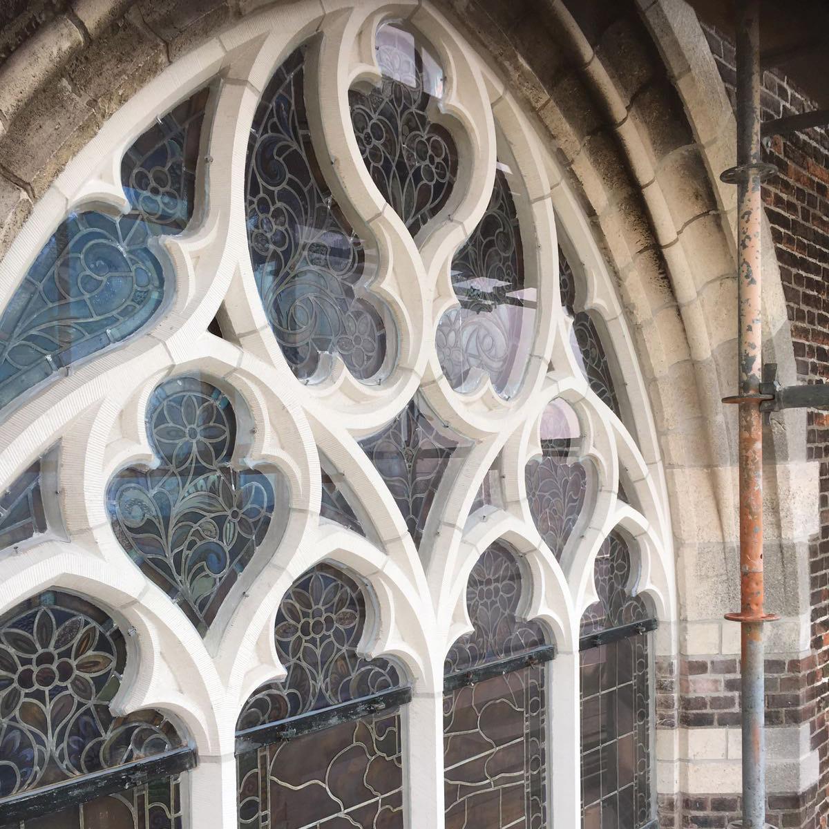 Bekend Monumentaal Glas van glasspecialist Jilleba, ook voor Glas-in-Lood CA21